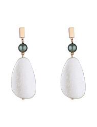 cheap -Women's Earrings Dangle Earrings Drop Stylish Simple European Imitation Pearl Earrings Jewelry White For Party Evening Street Date Birthday Festival