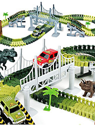 cheap -Toy Race Car & Track Sets Train Compact Track & Multi Terrain Loader Underground - Longwall Triceratops Jurassic Dinosaur Stegosaurus Parent-Child Interaction PP+ABS Kid's Child's All Toy Gift 1 pcs