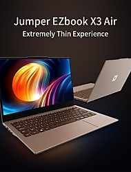cheap -Jumper EZBOOK X3 Air 13.3 inch IPS Intel Gemini Lake N4100 8GB DDR4 128GB SSD Intel HD Windows10 Laptop Notebook