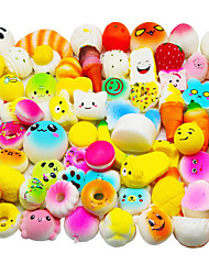 cheap -Squishy Squishies Squishy Toy Squeeze Toy / Sensory Toy 10 pcs Food Cake Dessert Soft Stress and Anxiety Relief Kawaii For Kid's Adults' Boys' Girls' Gift Party Favor / 14 years+