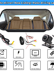 cheap -702+621 7.9 inch LCD-Digital Screen 480TVL 557 x 234 1/4 inch color CMOS Wired 170 Degree 1 pcs 170 ° 7 inch Car Rear View Kit Waterproof / LED Indicator / New Design for Car / Bus / Truck Water