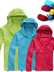 cheap -Women's UPF 50+ UV Sun Protection Lightweight Jacket Zip Up Hoodie Jacket Windbreaker Cooling Sun Shirt with Pockets Quick Dry Packable Coat Top Hiking Fishing Outdoor Performance