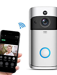cheap -Wireless Doorbell WiFi Video Smart Talk Door Ring Security HD Camera Bell