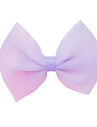 cheap -1pcs Kids Girls' Sweet Daily Wear Solid Colored Bow Polyester Hair Accessories Blue / Purple / Yellow One-Size / Headbands