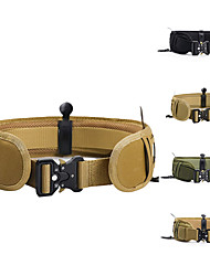 cheap -Men's Military Tactical Belt Breathable Wearable Quick Release for Solid Colored Nylon Canvas Autumn / Fall Spring Summer