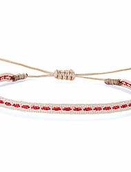 cheap -kelitch bohemian hand braided friendship bracelets colorful rope strand bracelets adjustable vintage cuff bracelets (02q)