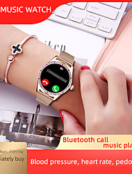 cheap -Z71 Women Smartwatch for iPhone  / Android Phones, IP67 Water-resistant Sports Tracker Support Heart Rate/Blood Pressure Measure