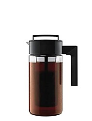 cheap -takeya patented deluxe cold brewer coffee maker, a quarter, black
