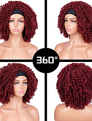 cheap -european and american wig women black headscarf small curly explosive head hair band wig headgear african small curly hair wholesale