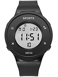 cheap -Men's Dress Watch Digital Digital Sporty Stylish Large Dial / One Year / Silicone