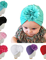 cheap -Kids Baby Girls' New Autumn And Winter Baby Products Children's Hat Hollow Flower Knotted Bohemia Style Indian Hat Baby Hat