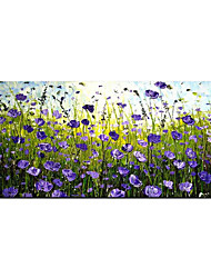 cheap -Oil Painting Hand Painted Abstract  Flower Landscape Living Room Decoration On The Wall Art for Home Decoration Rolled Canvas No Frame Unstretched