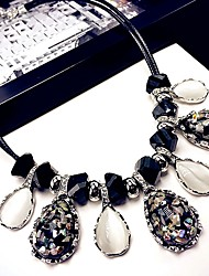 cheap -Women's Statement Necklace Fashion Modern Alloy Picture color 46 cm Necklace Jewelry 1pc For