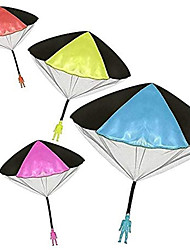 cheap -Parachute Men, Parachute Toy, No Tangle Throwing toy Parachute, flying Toys, Parachute Man, No Assemble or Batteries Required (4 Pack)
