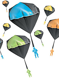 cheap -Parachute Toy, Tangle Free Throwing Toy Parachute, Outdoor Children's Flying Toys, No Battery nor Assembly Required(1 Pcs/2 Pcs)