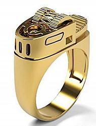 cheap -Ring 3D Gold Silver Alloy Statement Punk Rock 1pc 6 7 8 9 10 / Men's