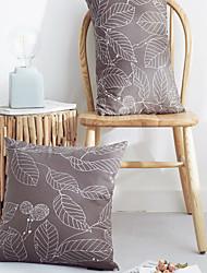 cheap -PillowCase Refreshing Leaf Simplicity Style PillowCase Living Room Bedroom Sofa Cushion Cover Modern Sample Room Cushion Cover