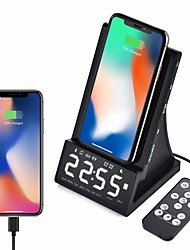 cheap -X7 Clock Radios FM Radio / Alarm Clock DC Powered
