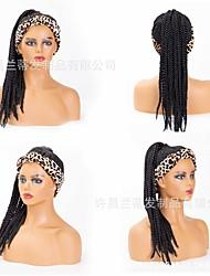 cheap -2021  new headscarf wig  wig fashion braid wig chemical fiber headgear