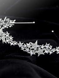 cheap -Wedding Bridal Alloy Headbands / Headdress / Headpiece with Imitation Pearl / Crystal / Rhinestone / Metal 1 PC Wedding / Party / Evening Headpiece
