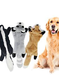 cheap -3 Pcs Squeaking Toy Dog Chew Toys Pet Molar Bite Toy Stuffed Animal Toy Dog Cat 1 set Animal Adorable Pet Training Plush Gift Pet Toy Pet Play
