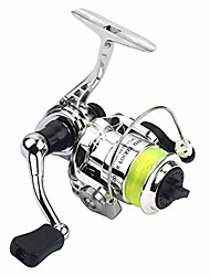 cheap -Fishing Reel Spinning Reel 4.3:1 Gear Ratio 2+1 Ball Bearings for