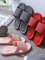 cheap -Slippers Women 2021 New Slippers Wholesale Summer Non-Slip Home Indoor Plastic Stall Pvc Bathroom Sandals And Slippers