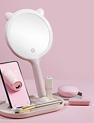 cheap -Led Makeup Mirror Portable Beauty Makeup Fill Light Usb Beauty Mirror Hd Smart Touch Screen Table Lamp Female