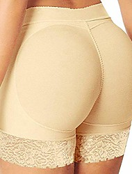 cheap -Corset Women's Control Panties Seamless Casual Breathable Comfortable Tummy Control Basic Yoga Lace Solid Color Seamed Nylon Cotton Christmas Halloween Wedding Party Birthday Party Spring & Summer