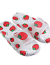 cheap -2021 Net Celebrity Summer Fruit Parent-Child Shoes Home Indoor Non-Slip Soft Bottom Small, Medium And Large Children's Sandals And Slippers Manufacturers Wholesale