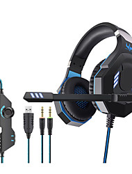 cheap -OVLENG GT92 Gaming Headset USB 3.5mm Audio Jack PS4 PS5 XBOX Ergonomic Design Retractable Stereo for Apple Samsung Huawei Xiaomi MI  PC Computer Gaming