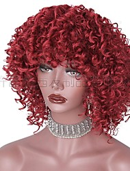 cheap -wig internet celebrity wig red fluffy explosion wig  wig cross-border supply spot one drop shipping