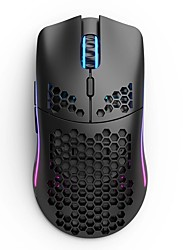 cheap -glorious model o wireless gaming mouse, light weight wireless mouse, matte black/white color, free shipping