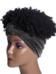 cheap -wig headgear foreign trade hairband small curly short curly hair ice silk hairband mechanism chemical fiber headgear factory straight hair