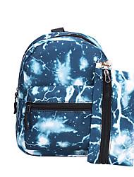 cheap -Boys' Girls' Bags Nylon School Bag Kids' Bag Daily Backpack 2021 Black Blue Red Green