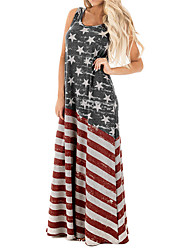 cheap -independence day amazon ebay aliexpress american flag print long skirt oversized skirt 2021 summer