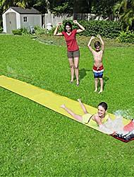 cheap -Slip and Slides for Kids Backyard, Children Summer Garden Lawn Water Slide Games Outdoor Water Toys with Splash Sprinkler