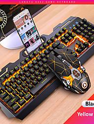 cheap -gaming keyboard mouse mechanical feeling rgb led backlit gamer keyboards usb wired keyboard computer game keyboard for pc laptop