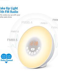 cheap -HX-002-6640KA Clock Radios FM Radio / Alarm Clock / Sleep Aid DC Powered