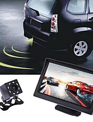 cheap -5-inch desktop monitor car LCD high-definition screen display two video inputs