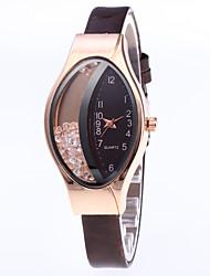 cheap -diamond fashion ladies watch half rhinestone ball quicksand quartz watch