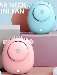 cheap -Outdoor Rope Fan Cute Bear Portable Handheld Hangable Small Fan Small Air Cooler Rechargeable Cooling Fan For Home Travel