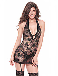 cheap -Women's Bras & Panties Sets G-strings & Thongs Panties Thin Lace-up Sexy Lace Chemises & Gowns