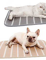 cheap -Dog Cat Cat Scratching Carpet Pad Dog Cooling Mat Cooling Mat for Pet Solid Colored Comfort Keep Cool For Hot Summer For Indoor Outdoor Use Fabric for Large Medium Small Dogs and Cats