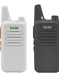 cheap -2020 WLN KD-C1 Mini Walkie Talkie  Handheld 2 Way Ham Radio hf Transceiver KD C1 uhf Communicator Station Mi-Ni wln KDC1