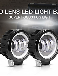 cheap -OTOLAMPARA Car LED Fog Lights Light Bulbs 10000 lm High Performance LED 100 W 4 For universal All Models All years 2pcs