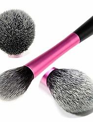 cheap -exquisite gray makeup brush loose powder brush blush repairing eye shadow fiber brush 1 stick makeup brush (color : fuchsia)