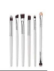 cheap -makeup brush set tools make-up toiletry kit fiber cosmetic brush eye brush (color : white)