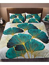 cheap -Print Home Bedding Duvet Cover Sets Soft Microfiber For Kids Teens Adults Bedroom Botanical/Plants 1 Duvet Cover 1/2 Pillowcase Shams