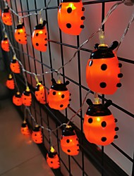 cheap -LED String Light Beetle Lamp Insect Flash Fairy Garland For Christmas Wedding Decoration